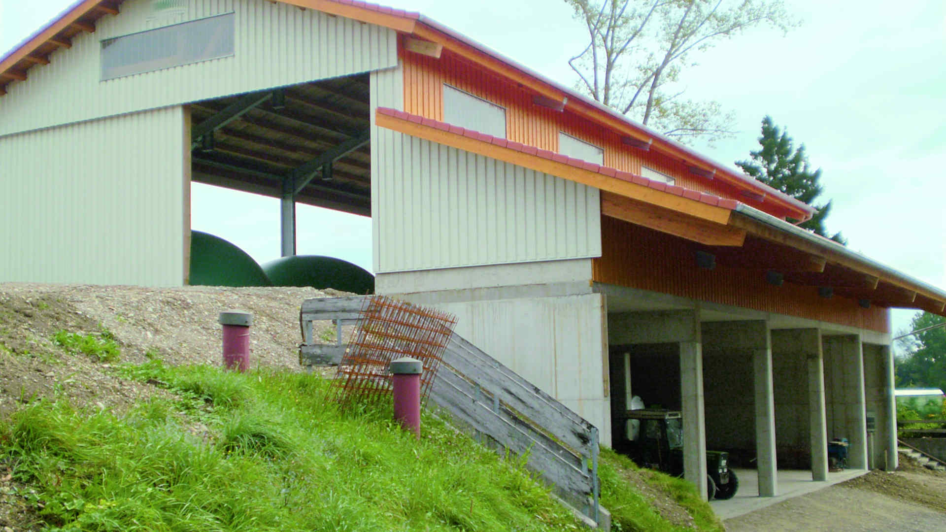 Agrar Baugebäude des Baugeschäfts W. Semtner GmbH in Mauerstetten bei Kaufbeuren