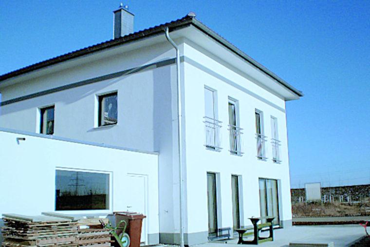 Moderner Hausbau durch das Baugeschäft W. Semtner GmbH in Mauerstetten bei Kaufbeuren